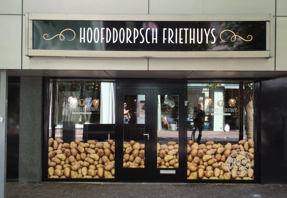 Gevelreclame Amsterdam Drukkerij Koopmans