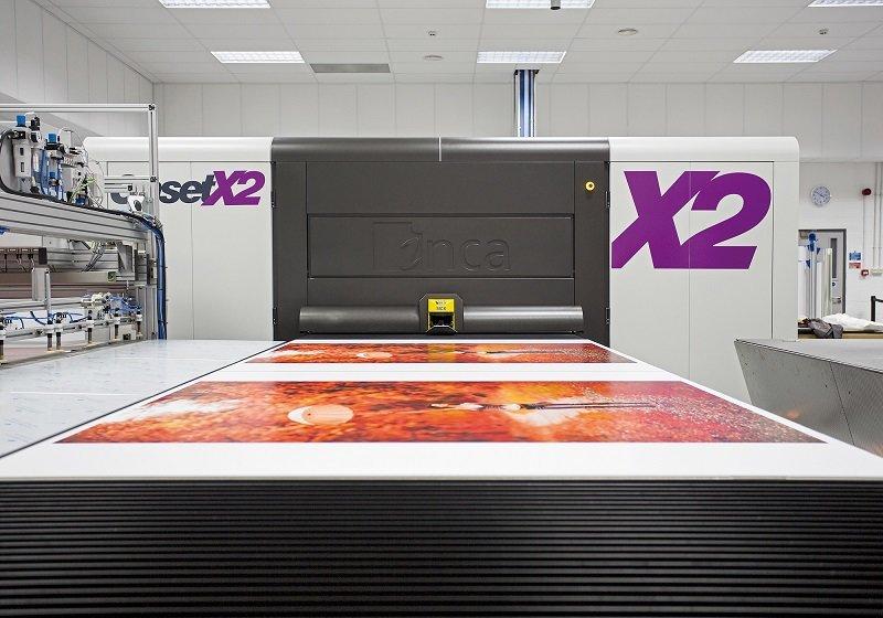 Printen en drukken met de mega printer door Drukkerij Koopmans